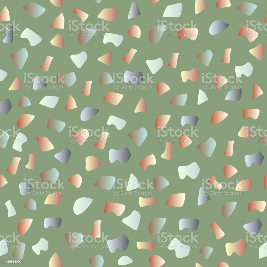 Terrazzo Seamless Pattern Pattern Ideal For Wrapping Paper