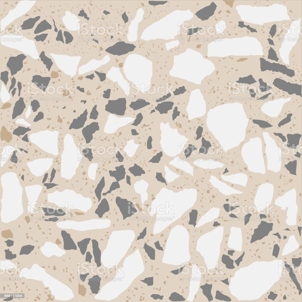 Terrazzo Tile Texture Stock Vector Art & More Images of Backgrounds ...
