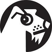 istock Terrier Dog Icon 1328183406