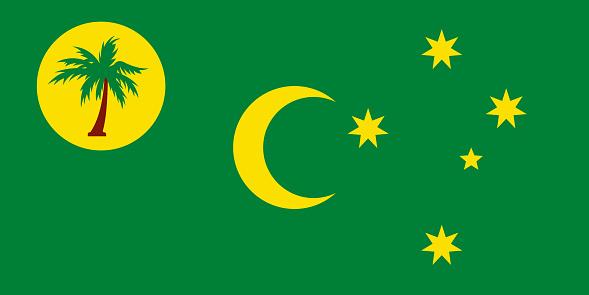 Territory of Cocos (Keeling) Islands Flag