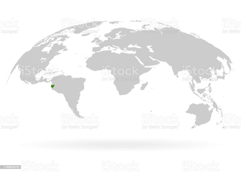 Territory Of Ecuador Planet Earth The Earth World Map On White Background Vector Illustration Eps 10 Stock Illustration Download Image Now Istock