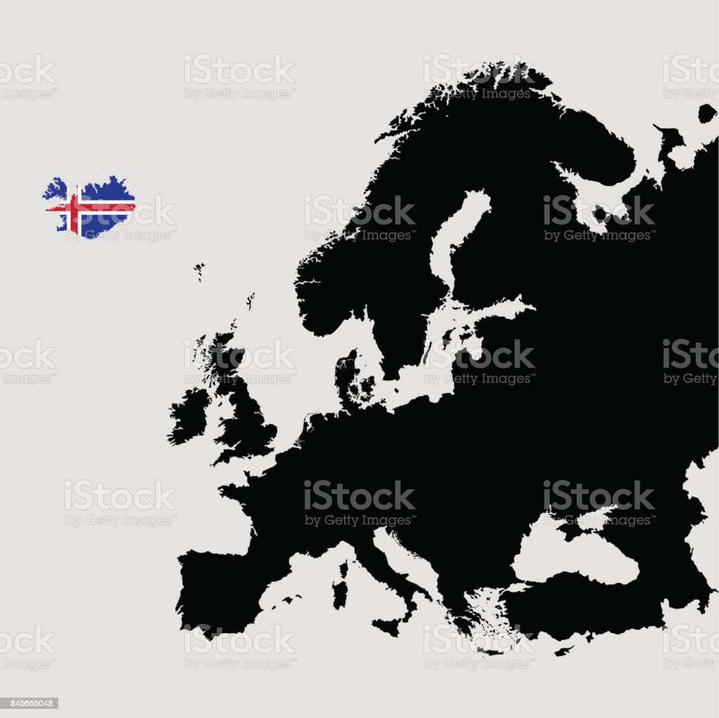 Territory Of Iceland On Europe Map On A Grey Background ... on iceland mountains map, iceland map by christiane engel, iceland scandinavia europe, iceland map black and white, iceland physical map, iceland on globe, iceland flag, iceland map with map key, iceland travel, iceland country map, iceland road map, iceland map with volcanoes, iceland global map, world map, iceland topographic map,