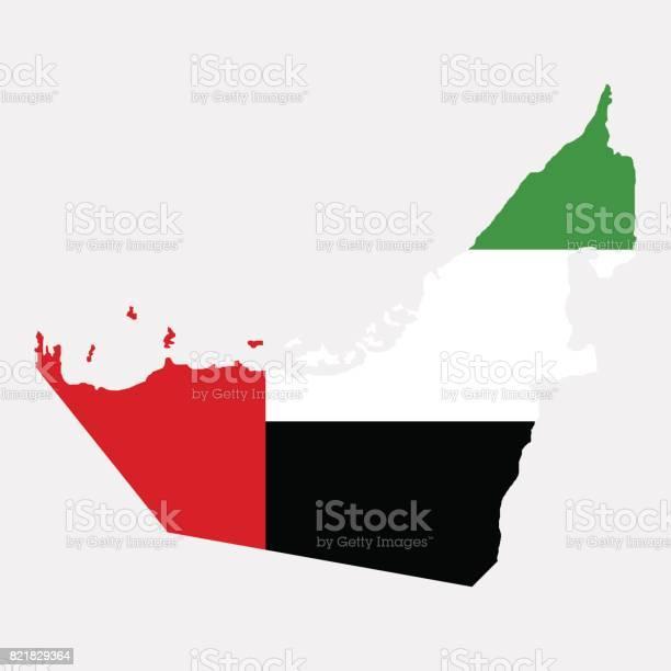 영토의 아랍 에미리트 연방 경계에 대한 스톡 벡터 아트 및 기타 이미지
