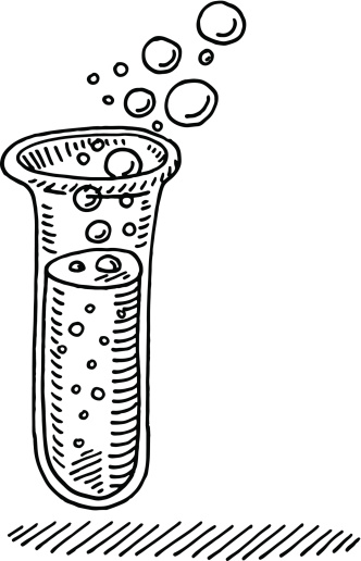 Ilustración de Prueba Química Del Tubo De Extracción y más