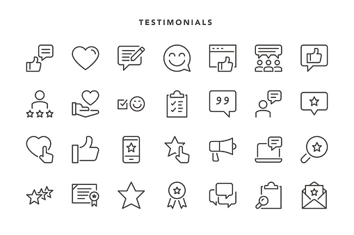 Testimonials Icons