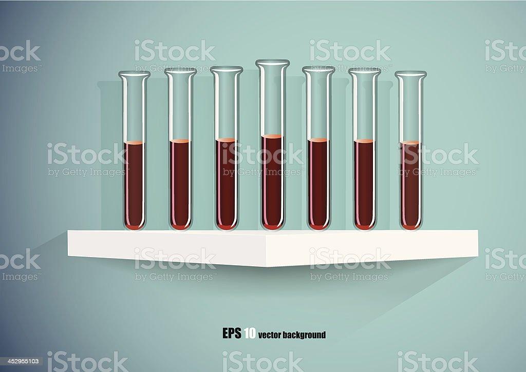 Test-Tubes royalty-free stock vector art