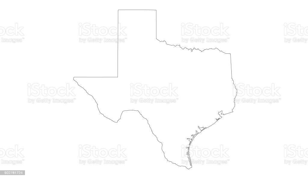 Texas Map Stock Illustration - Download Image Now - iStock on port isabele texas coast map, usm gulf coast map, texas new york map, southwest gulf coast map, san saba tx on texas map, galveston map, texas coast fishing maps, hurricane katrina gulf coast map, texas coastal map, central fl gulf coast map, northwest gulf coast map, texas east coast map, texas coastline map, southeast texas map, texas coastal towns, texas beaches, south texas map, venezuela gulf coast map, texas north map, texas counties,