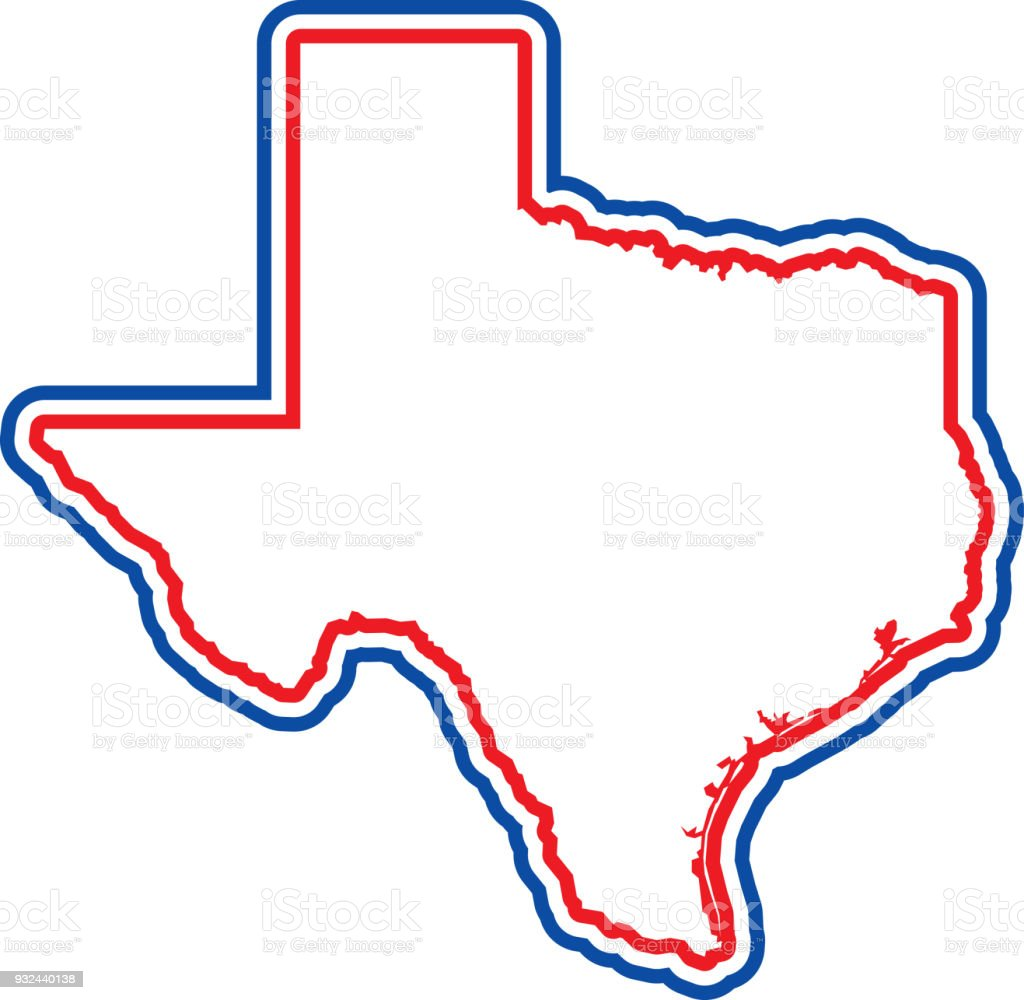 texas outline stock vector art more images of austin texas rh istockphoto com texas outline vector file texas state outline vector
