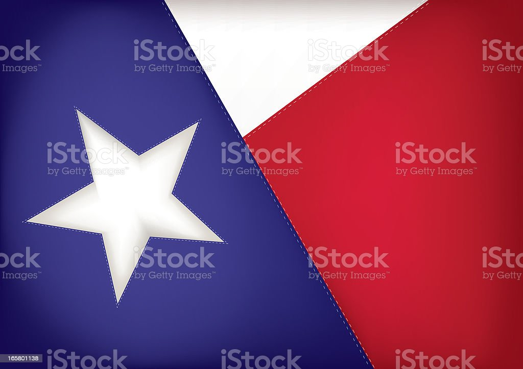 Texas State Flag royalty-free texas state flag stock vector art & more images of blue
