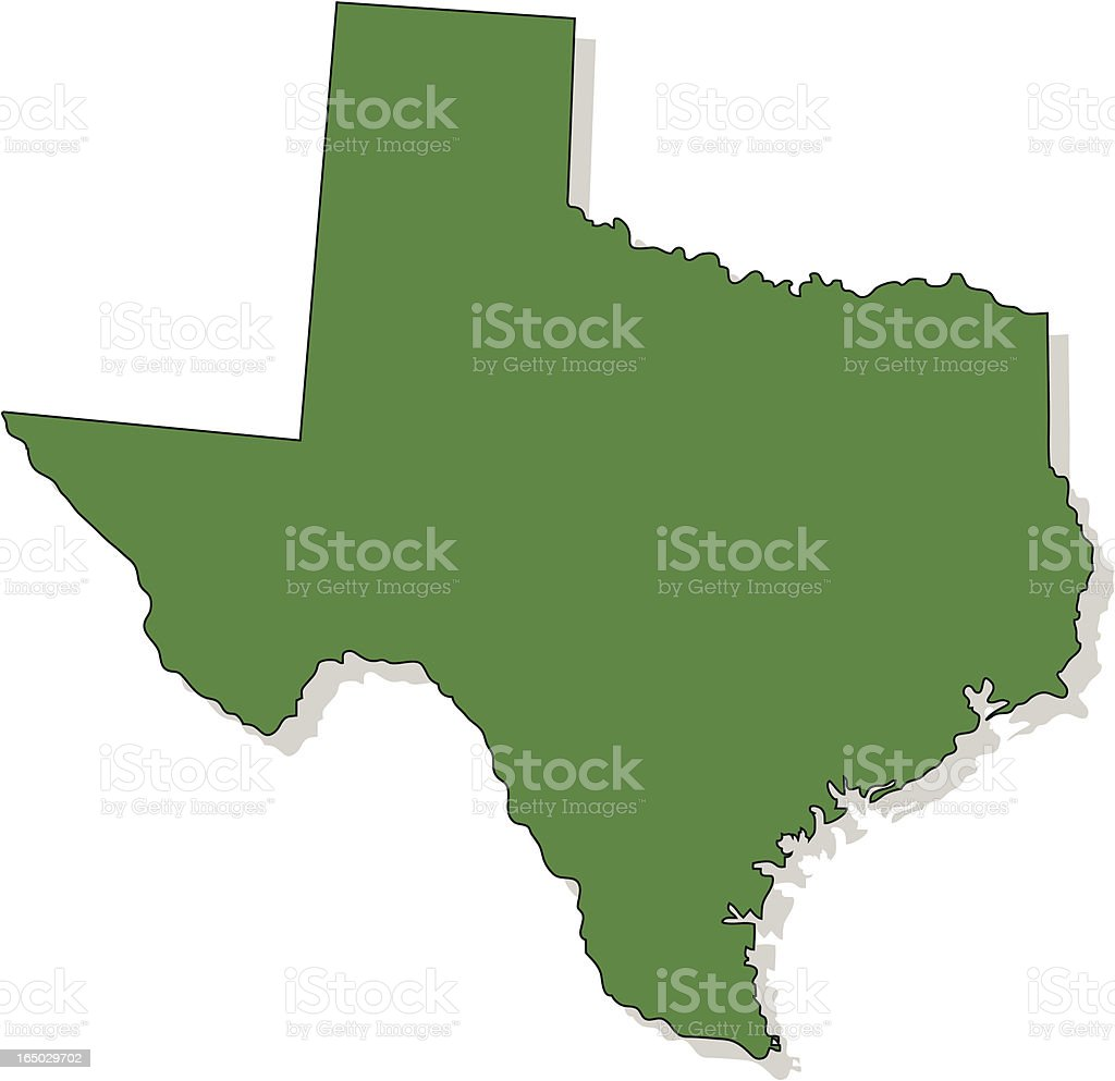 Texas royalty-free stock vector art