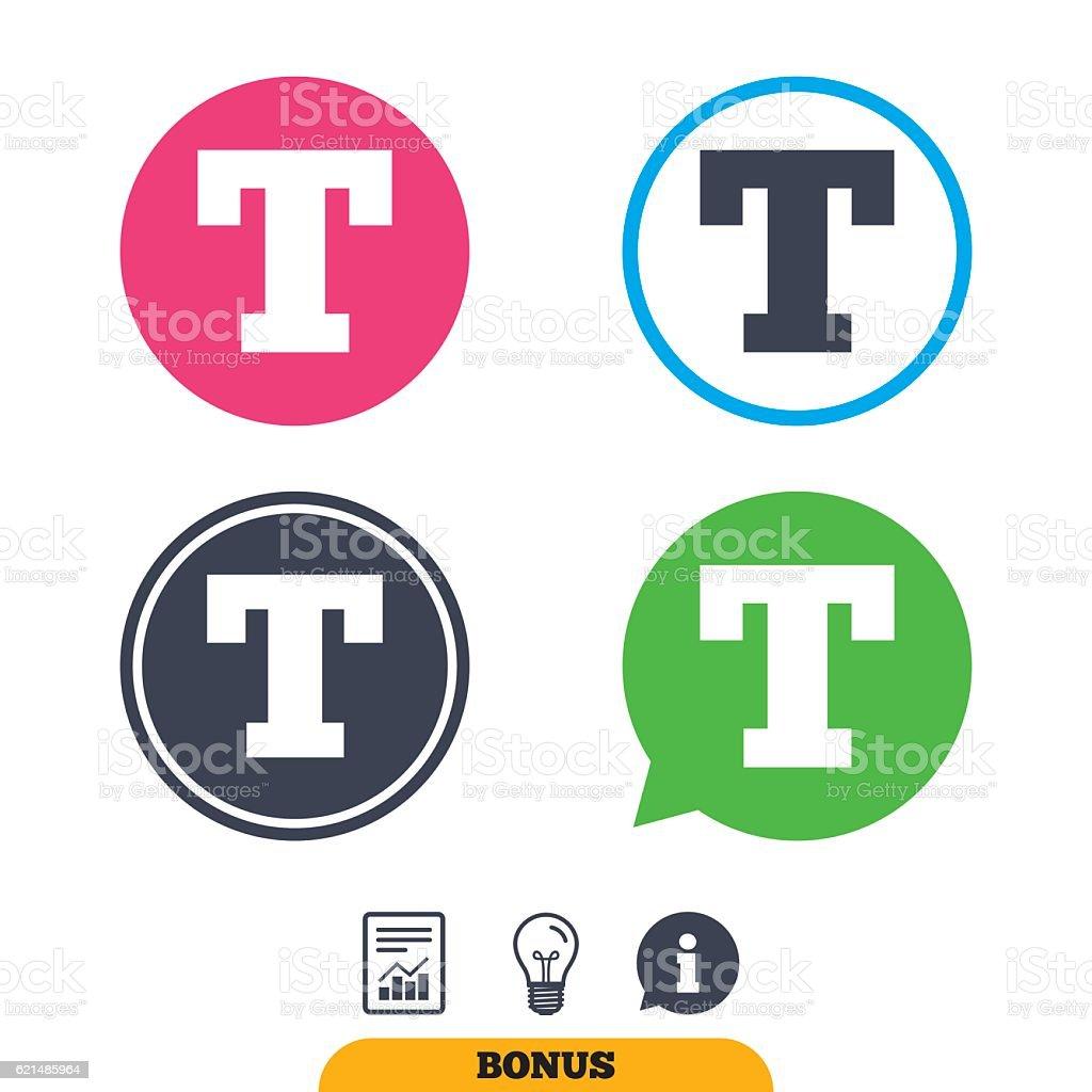 """Text bearbeiten-Symbol.  Buchstabe T """". Lizenzfreies text bearbeitensymbol buchstabe t stock vektor art und mehr bilder von abzeichen"""