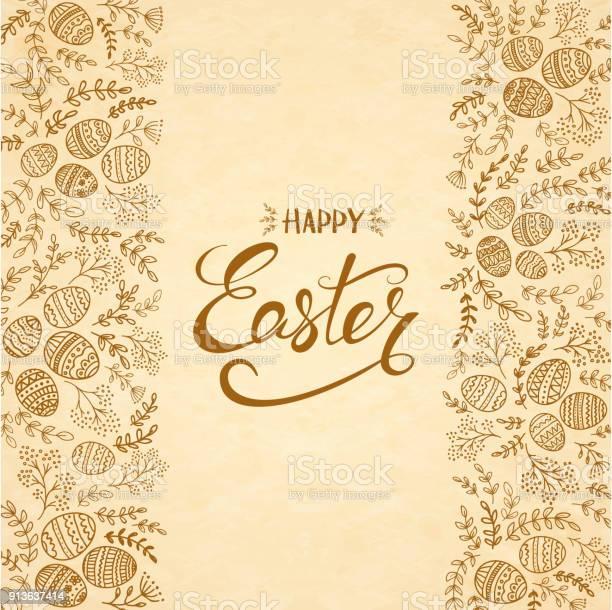 Text happy easter with eggs and floral elements vector id913637414?b=1&k=6&m=913637414&s=612x612&h=pdb4bn3qitrbfm38n hfbqtsglgop3 rpf4c2tmpv o=