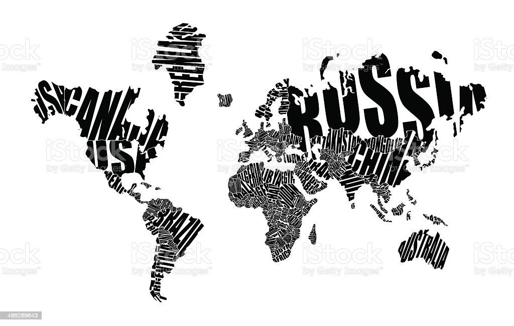 Text world map stock vector art more images of abstract 486289643 text world map royalty free text world map stock vector art amp more images gumiabroncs Images
