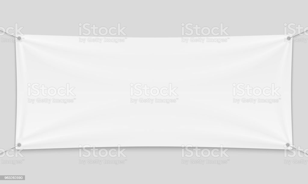 Textile banner royalty-free textile banner stock illustration - download image now