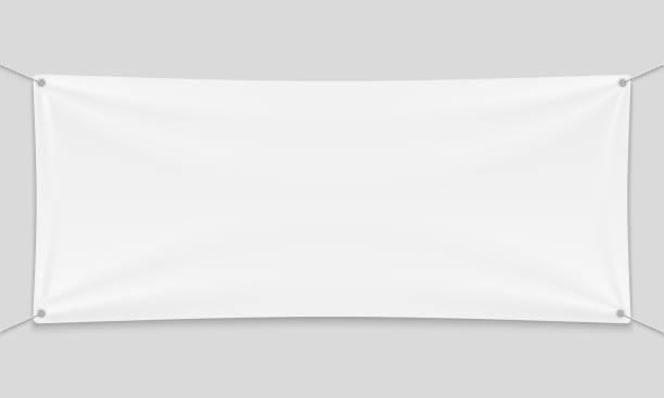 textile banner - wisieć stock illustrations