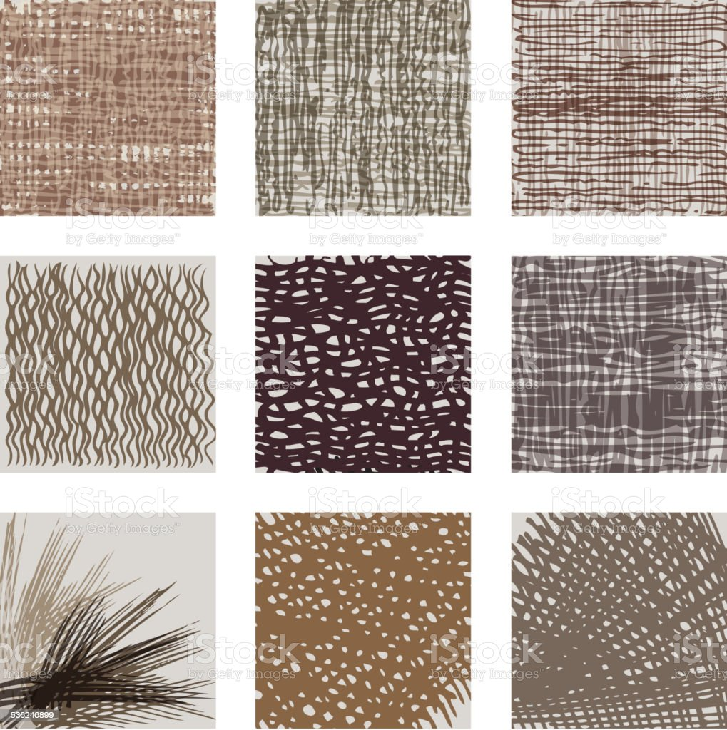 textile design vector art illustration