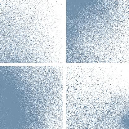 Set of vector texture backgrounds