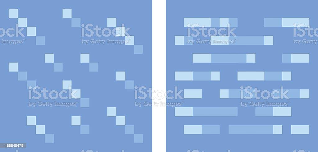 Texture Pour Platformers Pixel Art Vectorielleau Et Glace