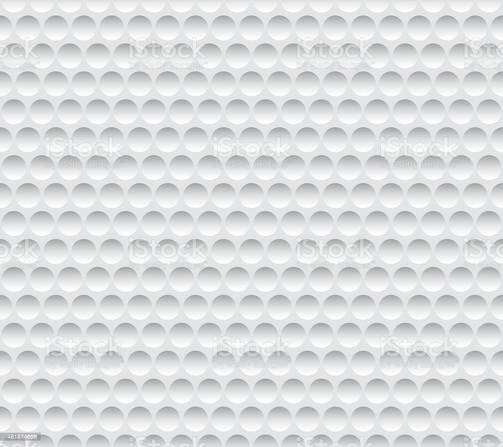Textura sem costura de golfe - ilustração de arte em vetor