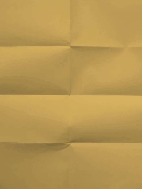 Textur der gefaltet in acht Papier-Hintergrund – Vektorgrafik