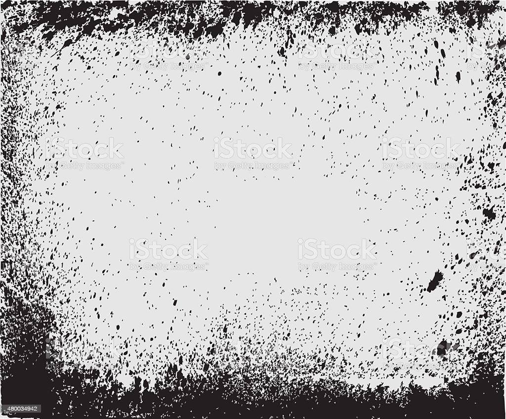 Texture Overlay For Your Design. Black and white grunge background. vector art illustration