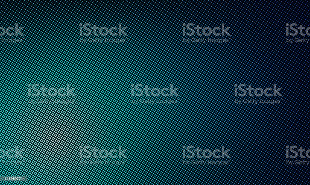 Led Texture Screen Digital Video Wall Background Vector Blue Led