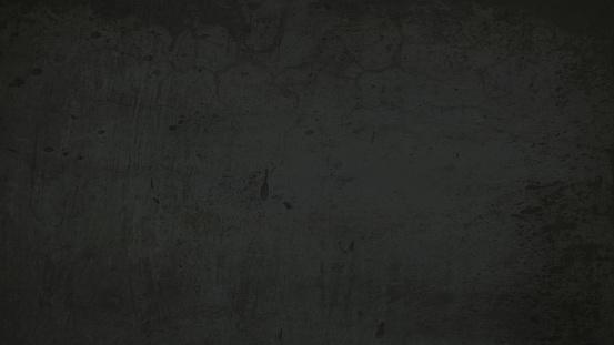 Textured black colored vector background - Illustration