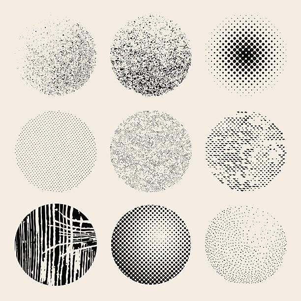 tekstura skutki koła - drewno tworzywo stock illustrations