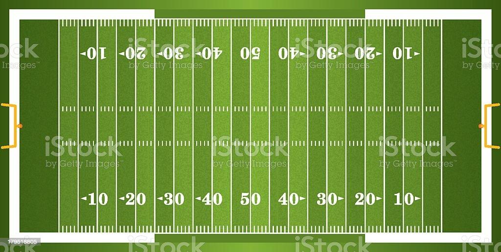 royalty free american football field clip art vector images rh istockphoto com football field clipart images football field background clipart