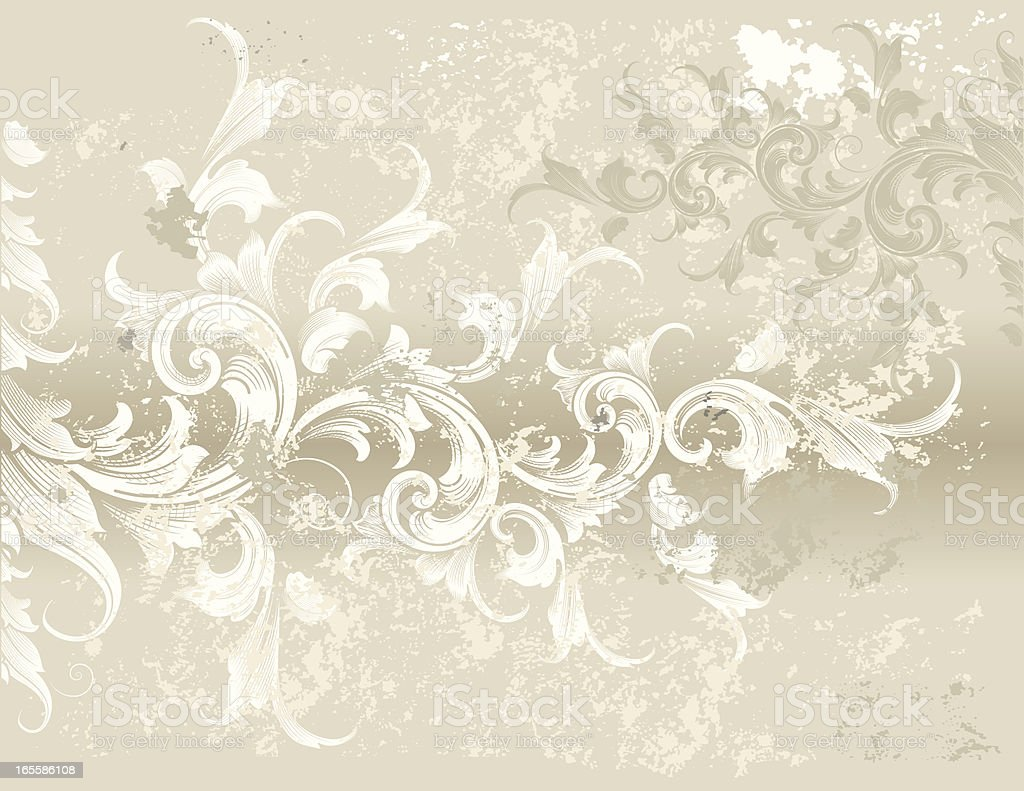 Textured Spiral Background royalty-free stock vector art