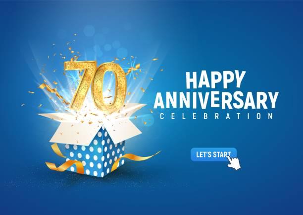 331 70th Birthday Illustrations Royalty Free Vector Graphics Clip Art Istock