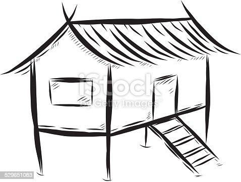istock Thai traditional house 529651083