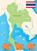 istock Thailand and elaphant 1307836533