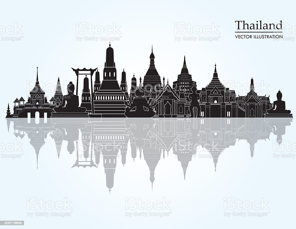 royalty free thai temple clip art vector images illustrations rh istockphoto com clipart temple lds temple clipart