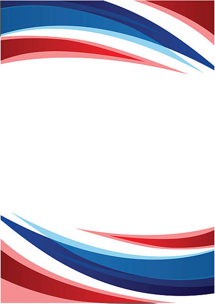 Thailand Fahne Abstrakter Hintergrund – Vektorgrafik