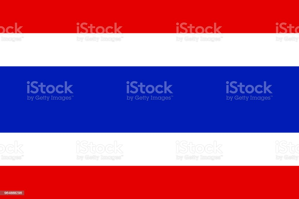 Thailand flag, National flag of Thailand, vector illustration royalty-free thailand flag national flag of thailand vector illustration stock vector art & more images of american flag