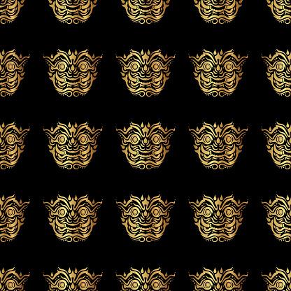 Thailand giant pattern background