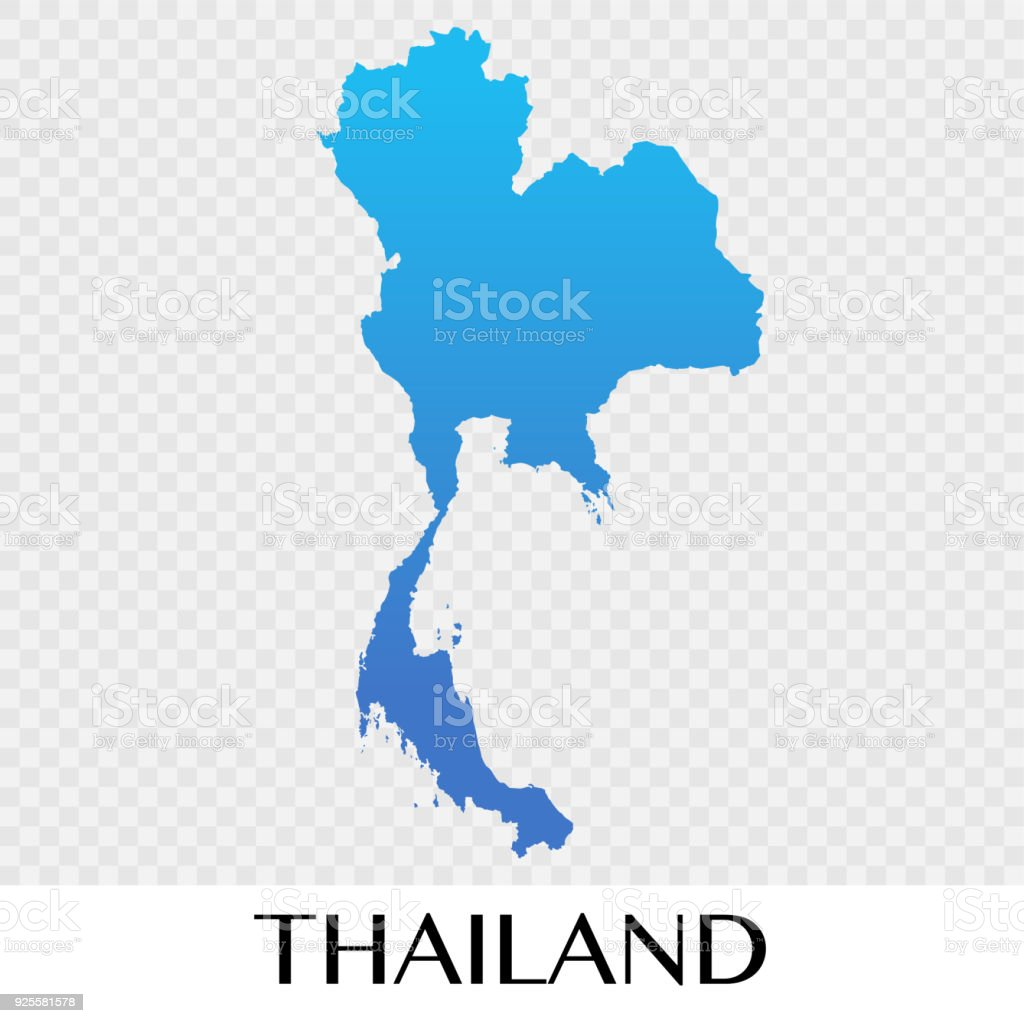 thailand map in asia continent illustration design royalty free thailand map in asia continent illustration