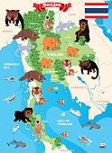 istock Thailand Map 1309614260