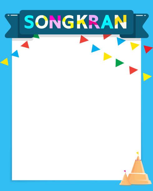 thailand songkran festival ist das neue jahr von thailand - ayutthaya stock-grafiken, -clipart, -cartoons und -symbole