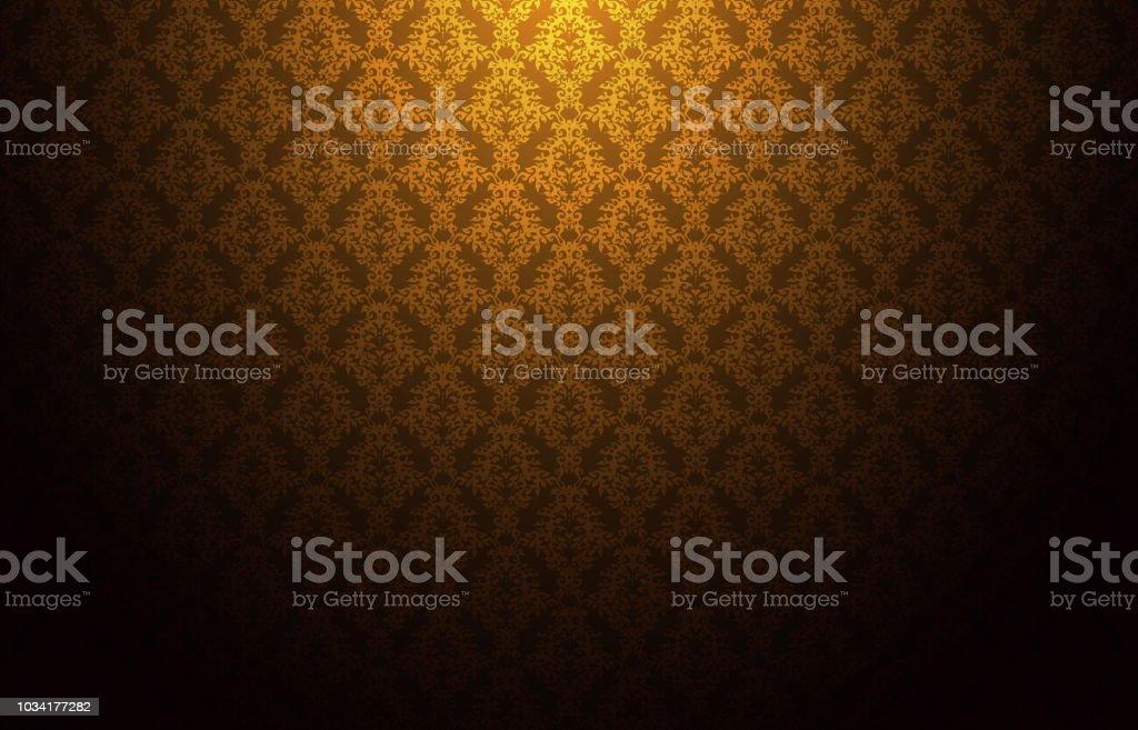 Thailand thai vintage pattern texture background wallpaper design vector vector art illustration