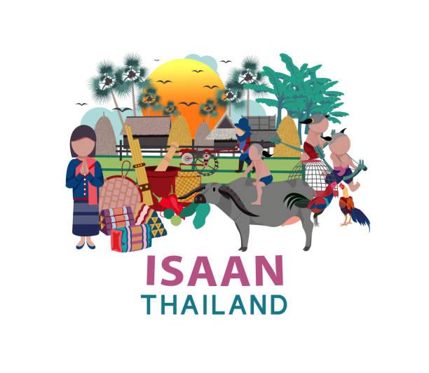tajlandia podróże - tajlandia stock illustrations