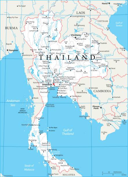 02 - thailand - weiß 10 - pattaya stock-grafiken, -clipart, -cartoons und -symbole