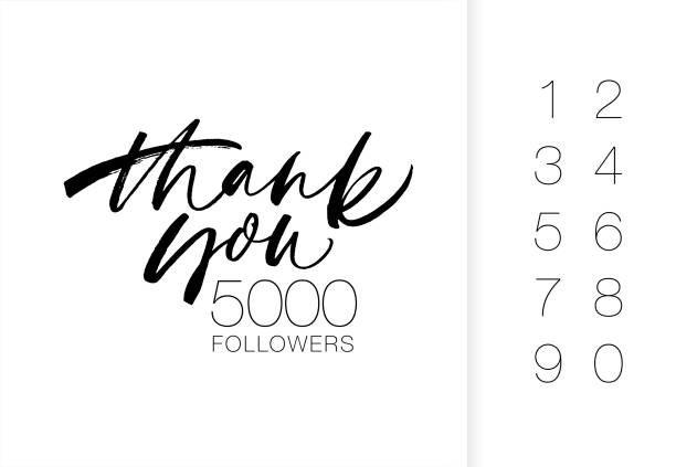 Best Thank You Business Illustrations, Royalty-Free Vector