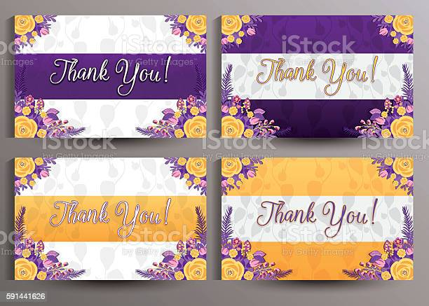 Thank you cards set vector id591441626?b=1&k=6&m=591441626&s=612x612&h=zdynx e3f ooiuxrsphvkml3fyo9hetaorppw 8zw3m=