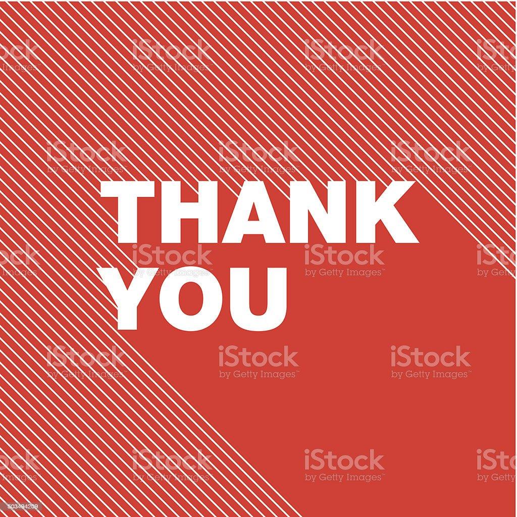 Спасибо вам корзину - Векторная графика Thank You - английское словосочетание роялти-фри