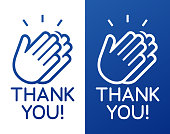 istock Thank You Clapping Hands Celebration Appreciation 1264911244