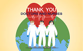 Thank you doctors and nurses working in the hospitals and fighting the coronavirus.