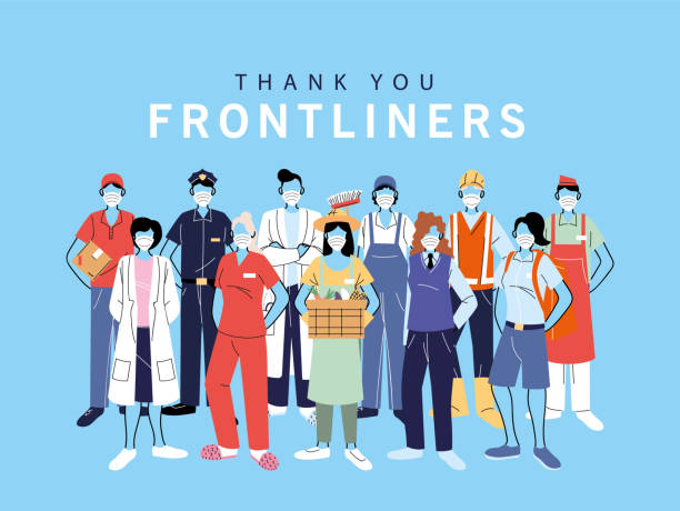 839 Frontline Workers Illustrations & Clip Art - iStock