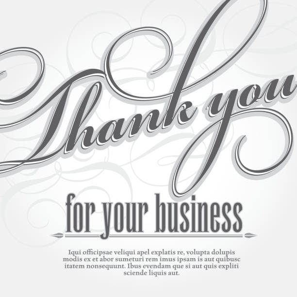 Best Thank You Illustrations, Royalty-Free Vector Graphics